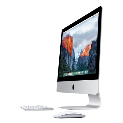21.5 inch iMac slim with magic keyboard and magic mouse