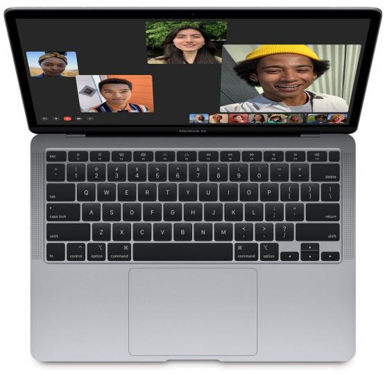 New MacBook Air with Touch ID
