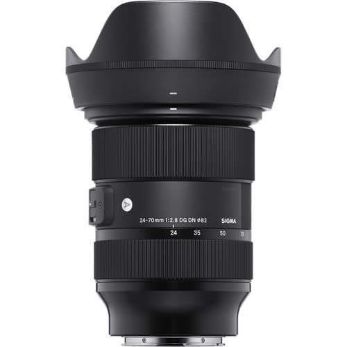 sigma 24-70 lens with cap