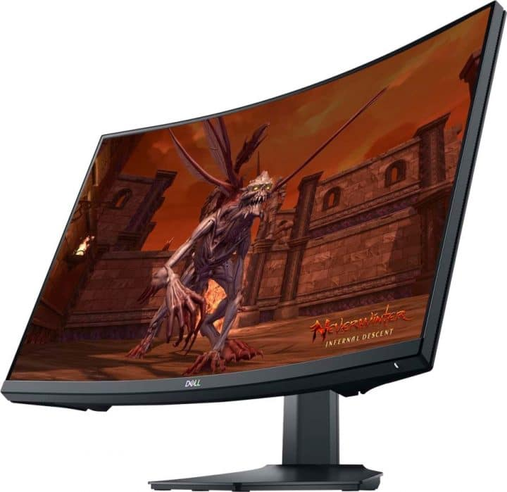 """dell 27"""" curved Monitor"""