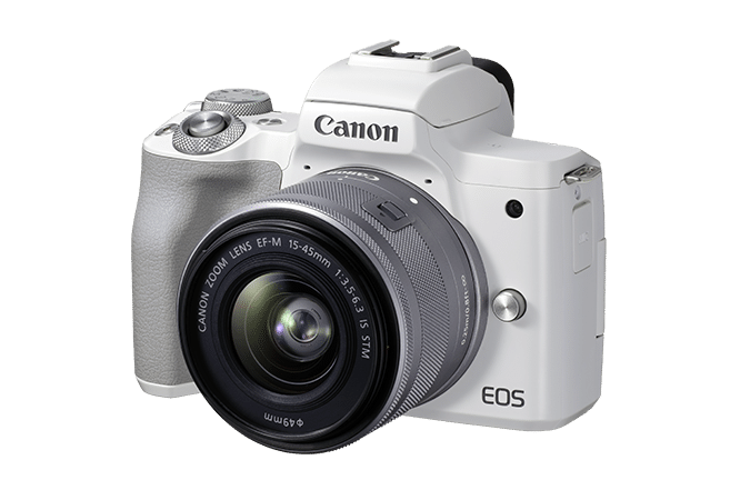 Canon EOS M50 Mark II white